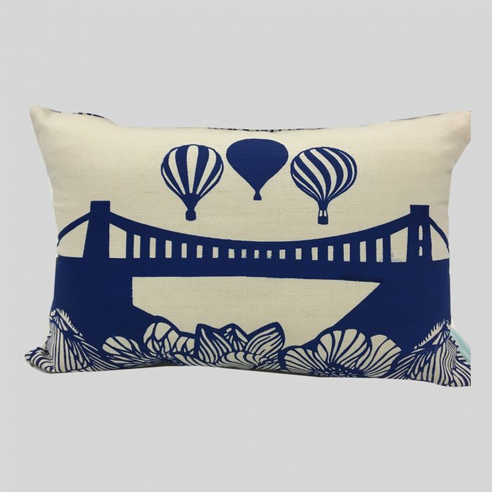 Cushion Clifton Suspension Bridge