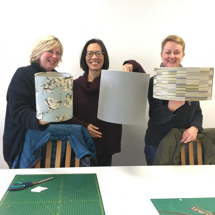 Lampshade Making Workshop 1 hr £55pp